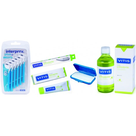 Vitis orthodontic kit  большой набор ортодонтический (в косметичке)