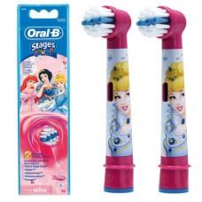 Braun Oral-B Stages Power Princess EB10K насадки для детской электрической щетки (2 штуки)