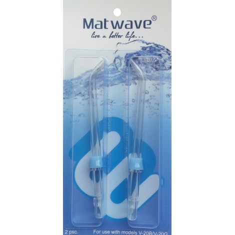 Matwave насадки для ирригатора стандартные (2 шт)