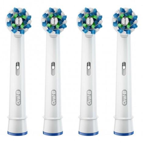 Braun Oral-B Cross Action насадки для тщательной чистки (4 шт)