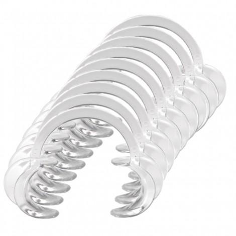Стоматологический ретрактор (расширитель губ) прозрачный пластик (10 шт)