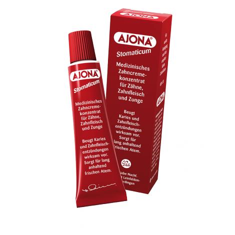 Ajona концентрированная зубная паста с эвкалиптом и ромашкой (25 мл)