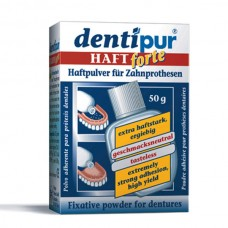 Dentipur haftpulver порошок для фиксации съемных зубных протезов (50 гр)