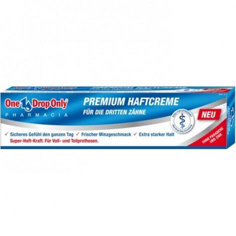 One Drop Only PREMIUM HAFTCREME крем для фиксации зубных протезов (40 гр)