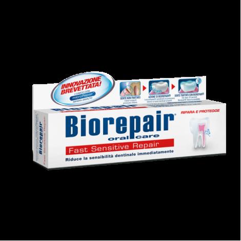 Купить Biorepair Fast Sensitive зубная паста для быстрого снижения чувствительности зубов 75 мл