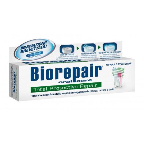 Купить Biorepair Total Protection комплексная защита зубная паста 75 мл