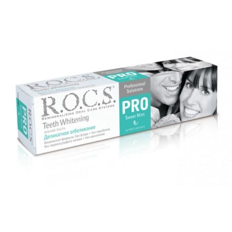 ROCS PRO Sweet Mint зубная паста деликатное отбеливание (135 гр)