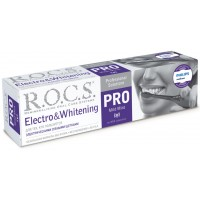 ROCS PRO Electro & Whitening Mild Mint зубная паста отбеливающая к электрическим щеткам (135 гр)