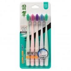 Corlyse NO.520 family зубные щетки, мягкие (5 шт)