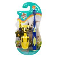 Corlyse kids Car NO.302 детская зубная щетка с машинкой