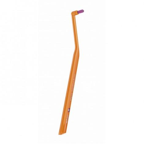 Curaprox CS 1009 single монопучковая щетка для чистки брекетов, имплантов и коронок