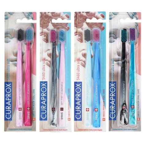 Curaprox CS 5460/2 Duo Michelangelo Ultrasoft набор зубных щеток с ультрамягкими щетинками (2 шт)