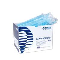 Hager Werken Happy Morningе одноразовые зубные щетки без пасты Германия (100 шт)