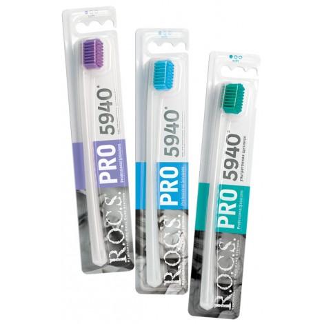 ROCS PRO 5940 Soft зубная щетка с мягкими щетинками (1 шт)
