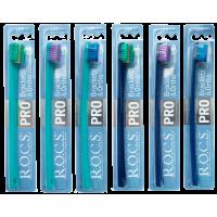 ROCS PRO Brackets & Ortho зубная щетка для брекетов с мягкими щетинками