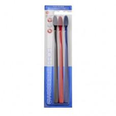 Swissdent Profi Colours Fancy зубные щетки средне-мягкой жесткости (3 шт)