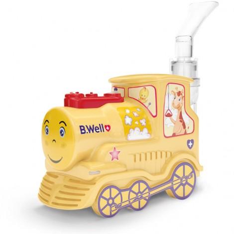 B Well PRO-115K компрессорный ингалятор детский паровозик NEW