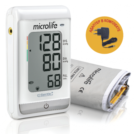 Microlife BP A150 Afib Тонометр автоматический на плечо с манжетой M-L и с адаптером