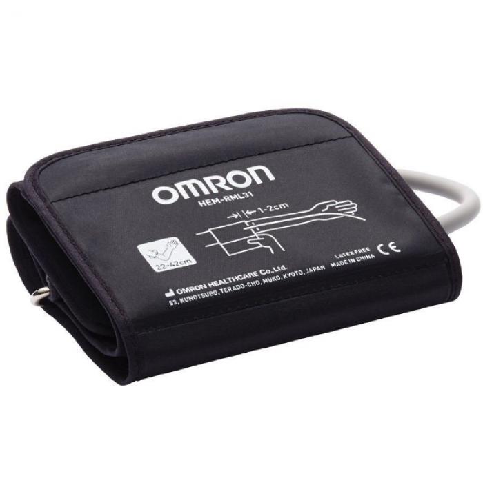 Omron M2 Basic тонометр автоматический на плечо (HEM-7121-ALRU) с адаптером и универсальной манжетой