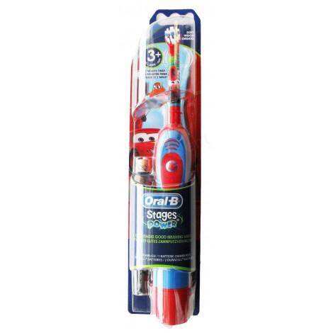 """Braun Oral-B электрическая зубная щетка для детей """"Тачки"""" Strages Power 3+"""